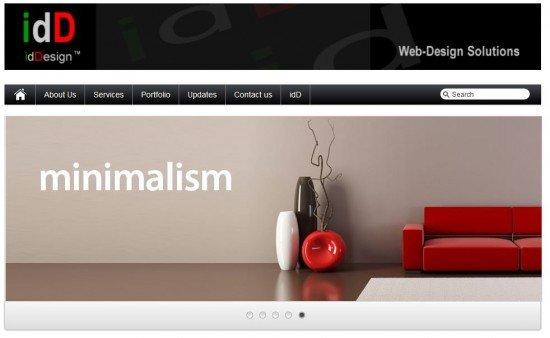 Botany web Design